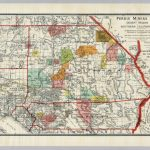 Desert Region Of Southern California – David Rumsey Historical Map – Printable Map Of Riverside County