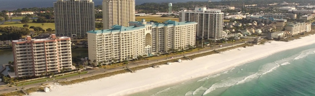 Destin Florida Vacation Rentals - Seascape Resort - Map Of Destin Florida Condos