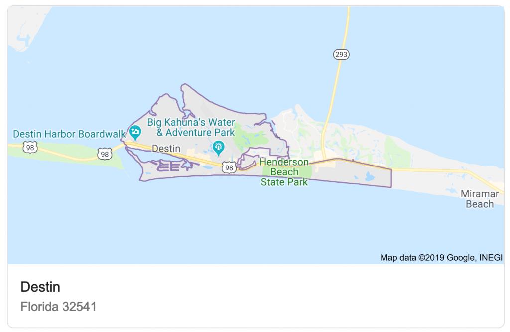 Destin Vs. Naples - Grayton Beach Florida Map