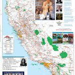 Detailed California Road / Highway Map   [2000 Pix Wide   3 Meg   California State Road Map