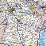 Detailed Road Map Of Georgia And Travel Information | Download Free   Georgia Road Map Printable