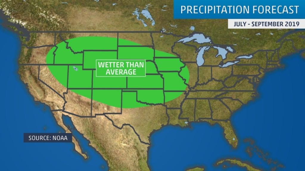 Developing El Niño And California's Upcoming Wet Season May Be Good - California Coast Weather Map