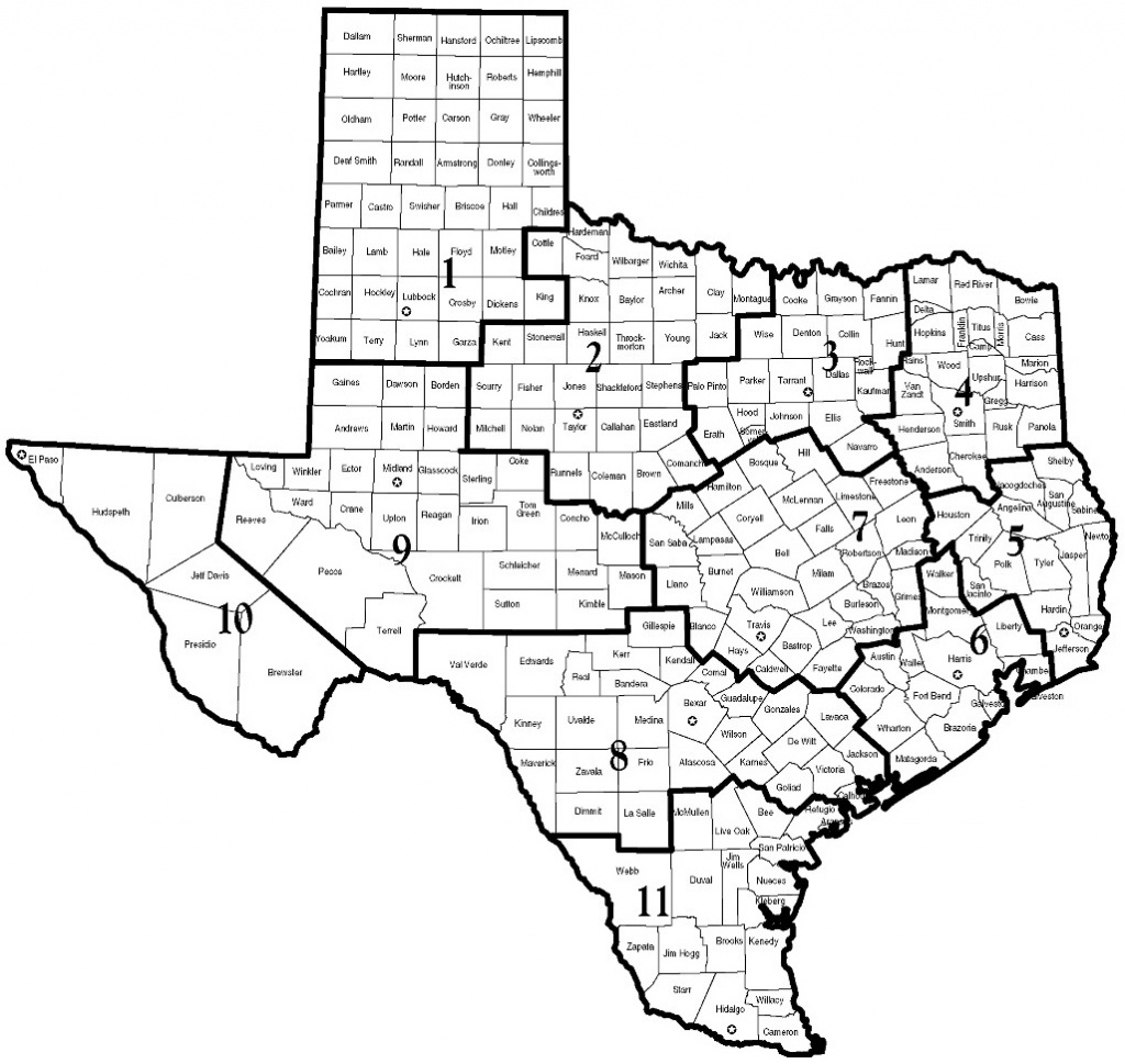 Dfps - Map Of Dfps Regions - Texas Dps Region Map