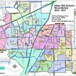 Dfw School District Map   Dfw Isd Map (Texas   Usa)   Texas School District Map By Region