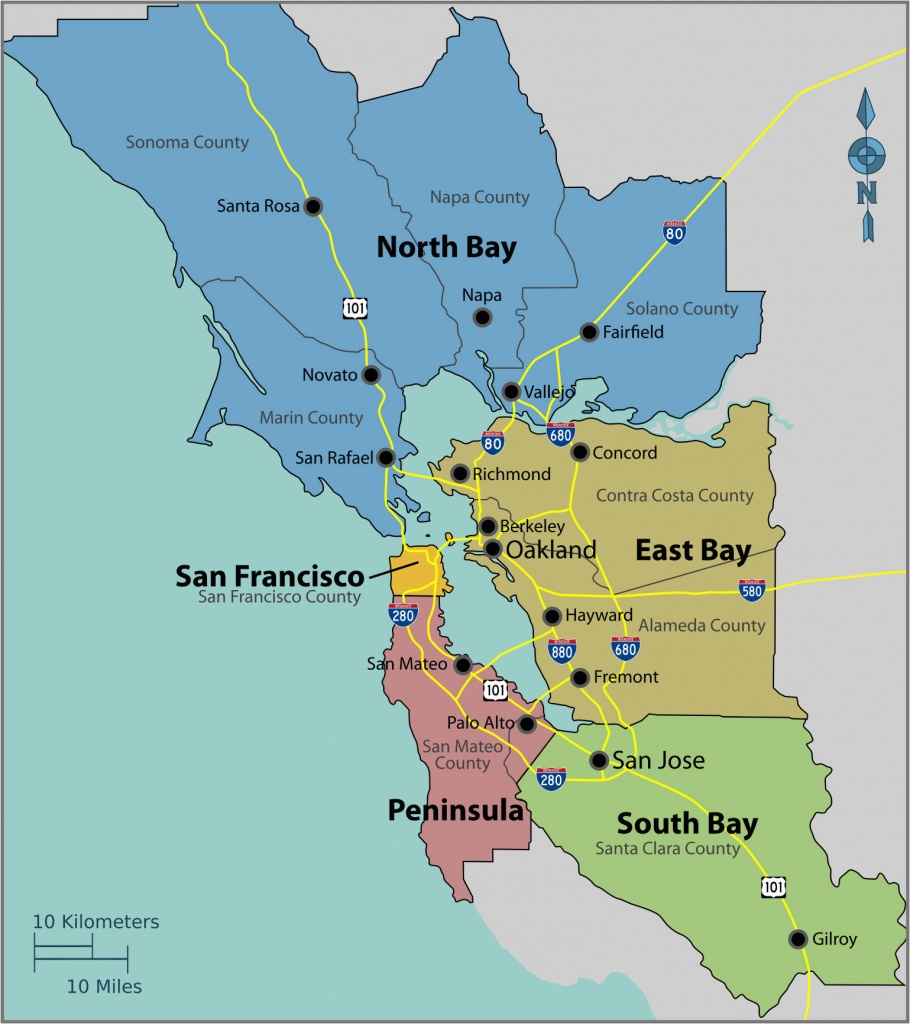 Diners Drive-Ins And Dives Map California San Francisco Bay Area - Where Is Sacramento California On A Map