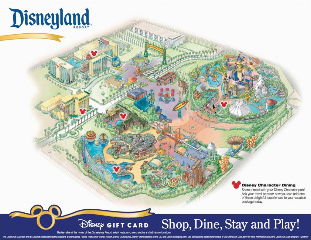 Disney World California Map Disneyland Park California Map Printable - Disney World California Map