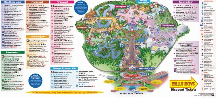 disney world florida epcot map   Printable Maps