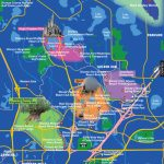 Disney World Map   Disney Florida Map