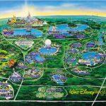 Disney World Map   Orlando • Mappery   Disney Florida Map