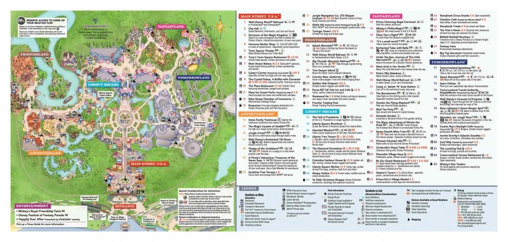 Disney World Maps • Wdw Travels - Printable Epcot Map 2017