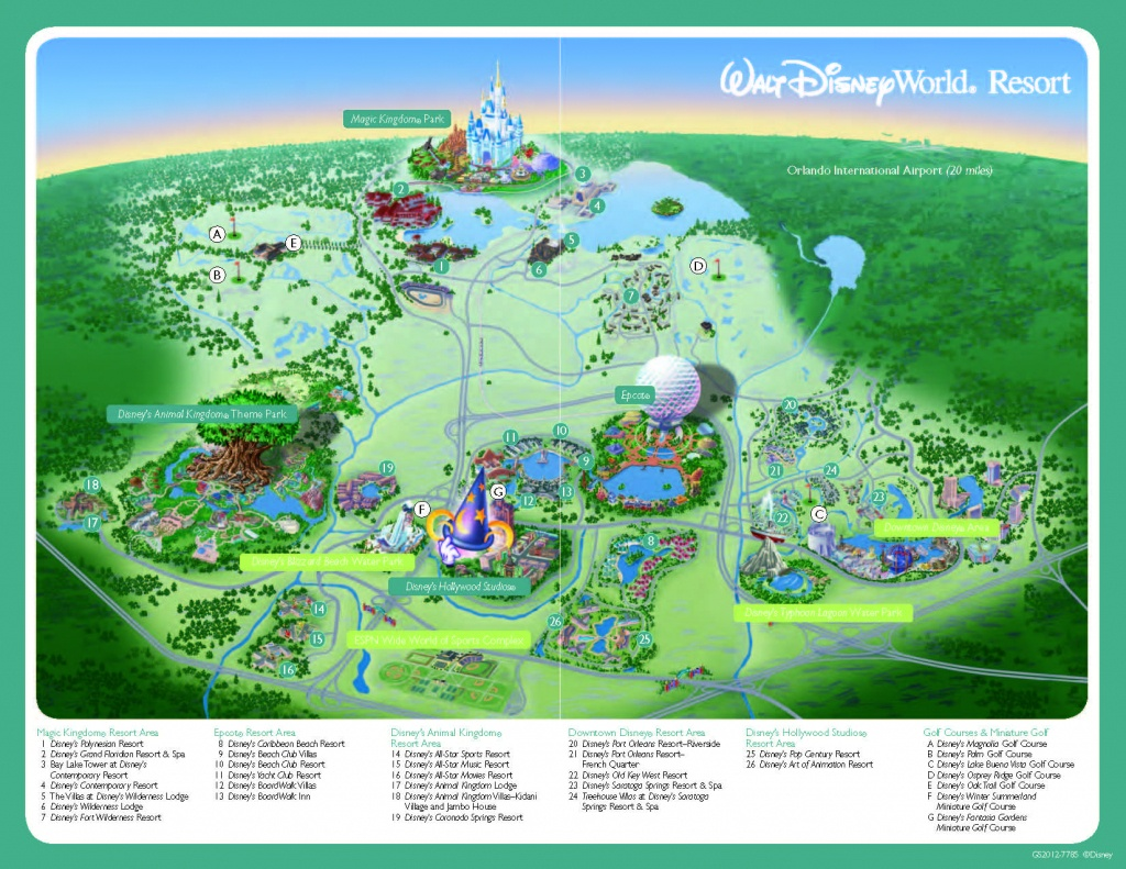Disney World Resort Map - 2019 Tpe Community Conference2019 Tpe - Wdw Maps Printable