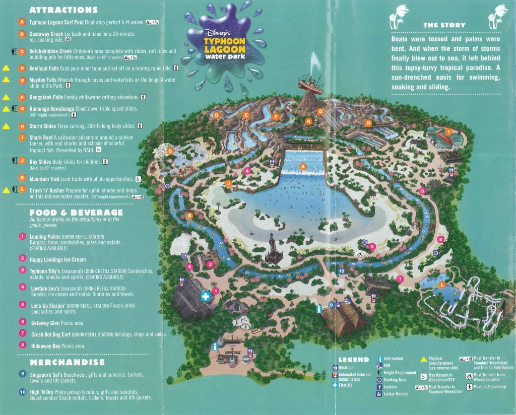 Disney World Theme Park Maps | Meet The Magic - Disney World Florida Theme Park Maps