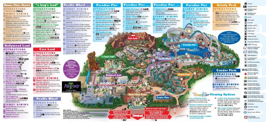 Disneyland Inside Out | Disneyland Park Information | Maps - Disneyland California Map