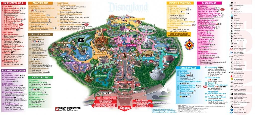 Disneyland Map | Dis Blog - Printable Disney Maps