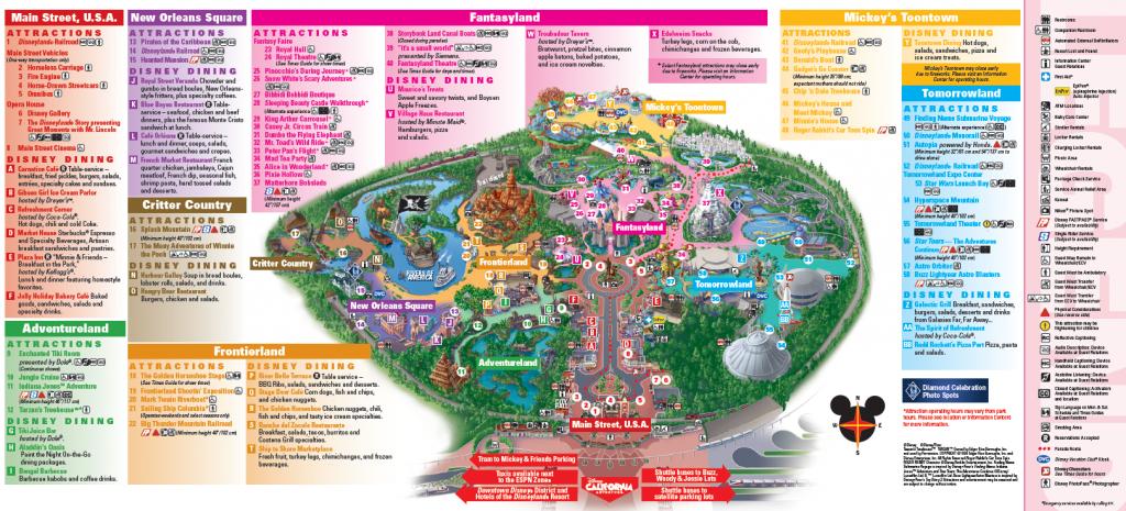 Disneyland Map - Sensing Change Blog - Printable Disneyland Map 2015