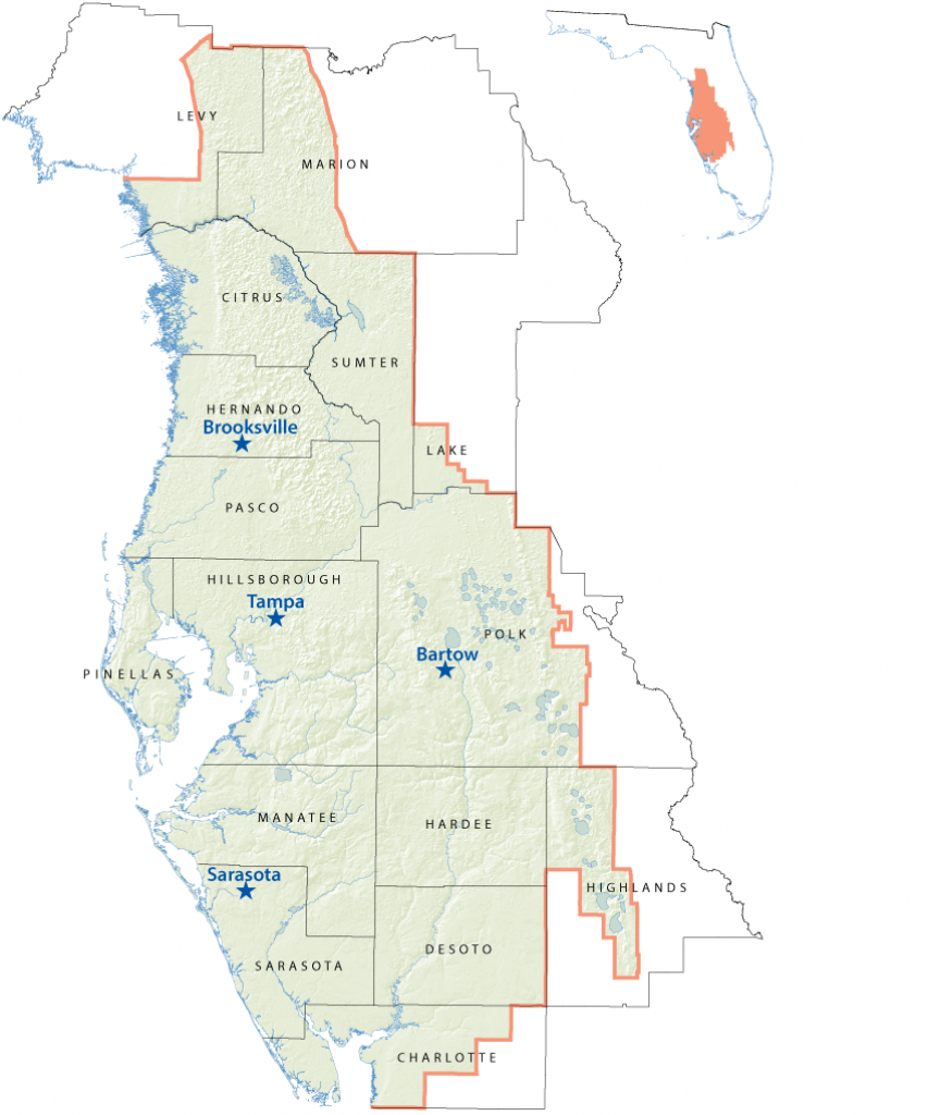 District Maps - Service Offices | Watermatters - Google Maps Tampa Florida