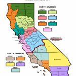 Divisions And Area Map   California Fire Chiefs Association   Where Are The Fires In California Right Now Map