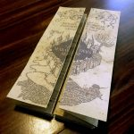 Diy Harry Potter Marauders Map Tutorial And Printable From   Marauder's Map Replica Printable