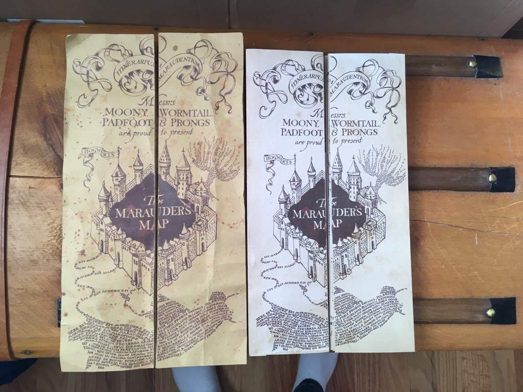 Diy Marauder's Map!!!!   Harry Potter Amino - Marauders Map Printable