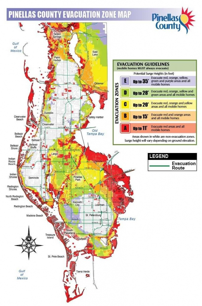 Djsrhx Uqaa0Tmg Jpg Large 12 Pinellas County Elevation Map - Map Of Pinellas County Florida