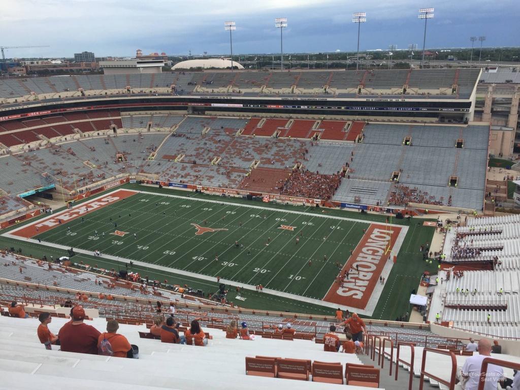 Dkr-Texas Memorial Stadium Section 101 - Rateyourseats - Dkr Texas Memorial Stadium Map