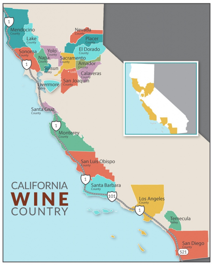 Dog-Friendly Lodging | Dog-Friendly Hikes | Dog-Friendly Parks | Dog - California Wine Trail Map