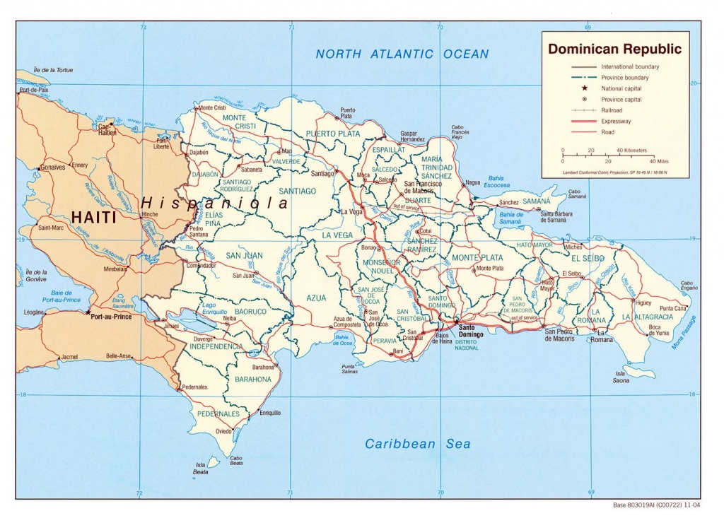 Dominican Republic Maps | Printable Maps Of Dominican Republic For - Free Printable Map Of Dominican Republic