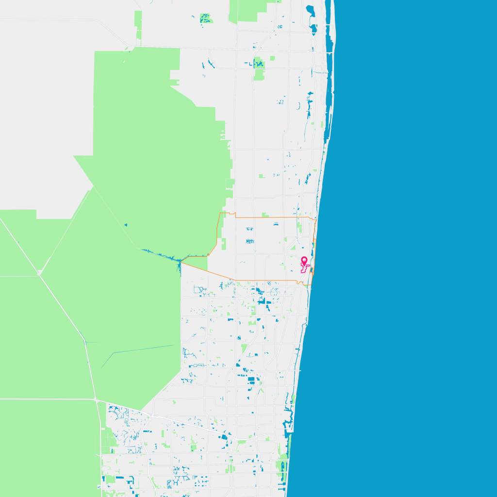 Downtown Neighborhood Guide - Boca Raton, Fl | Trulia - Boca Delray Florida Map
