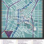 Downtown San Antonio Map   San Antonio Texas • Mappery   Map Of Downtown San Antonio Texas