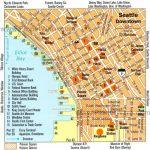 Downtown Seattle Walking Map   Walking Map Of Downtown Seattle   Printable Map Of Downtown Seattle