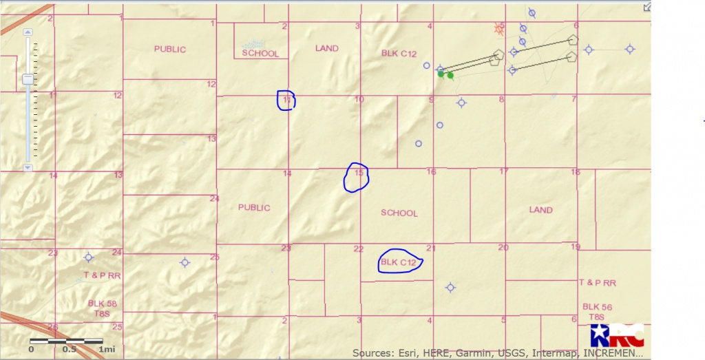 Drilling Activity In Sections 11 And 15, Block 112 - Pecos County - Reeves County Texas Plat Maps