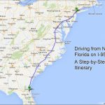 Driving From New York To Florida – A Step-By-Step Itinerary | Kids – Myrtle Beach Florida Map