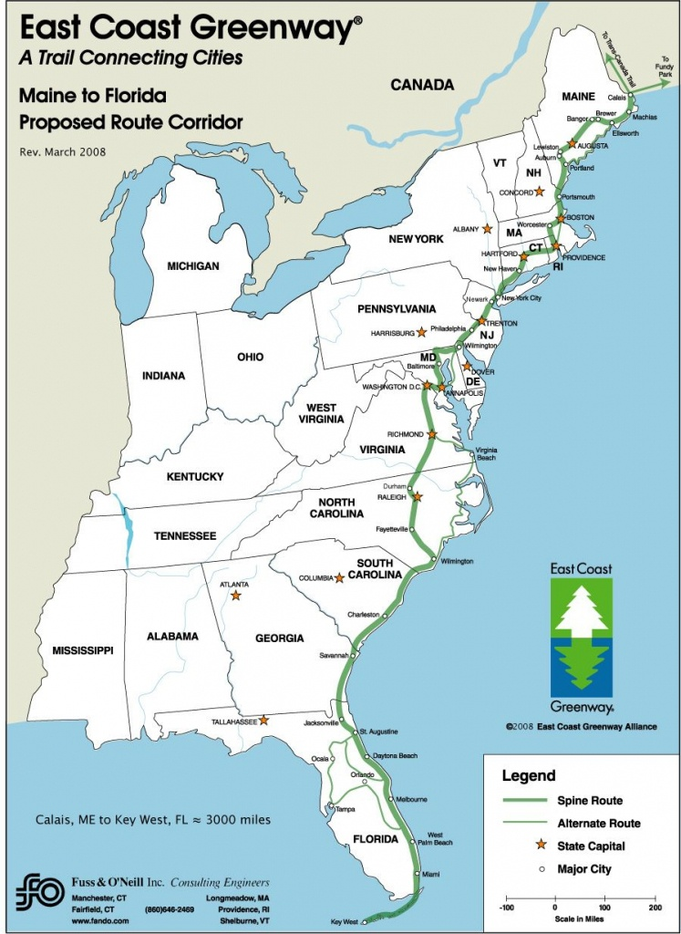 Driving Map Of East Coast   26: Some Of The Benefits To Having A - Map Of Eastern Florida Beaches