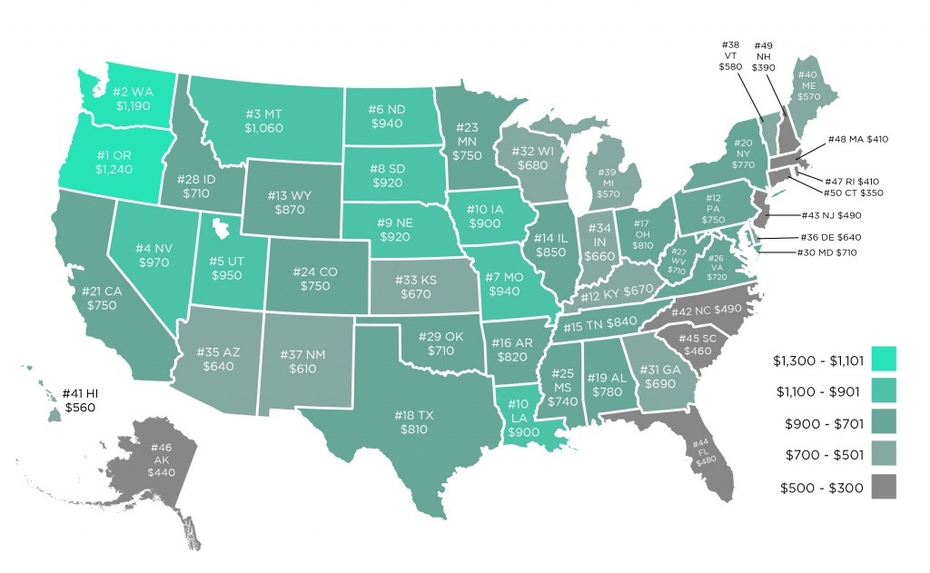 Driving On Electricity Is Cheaper Than Gas In All 50 States - California Electric Car Charging Stations Map