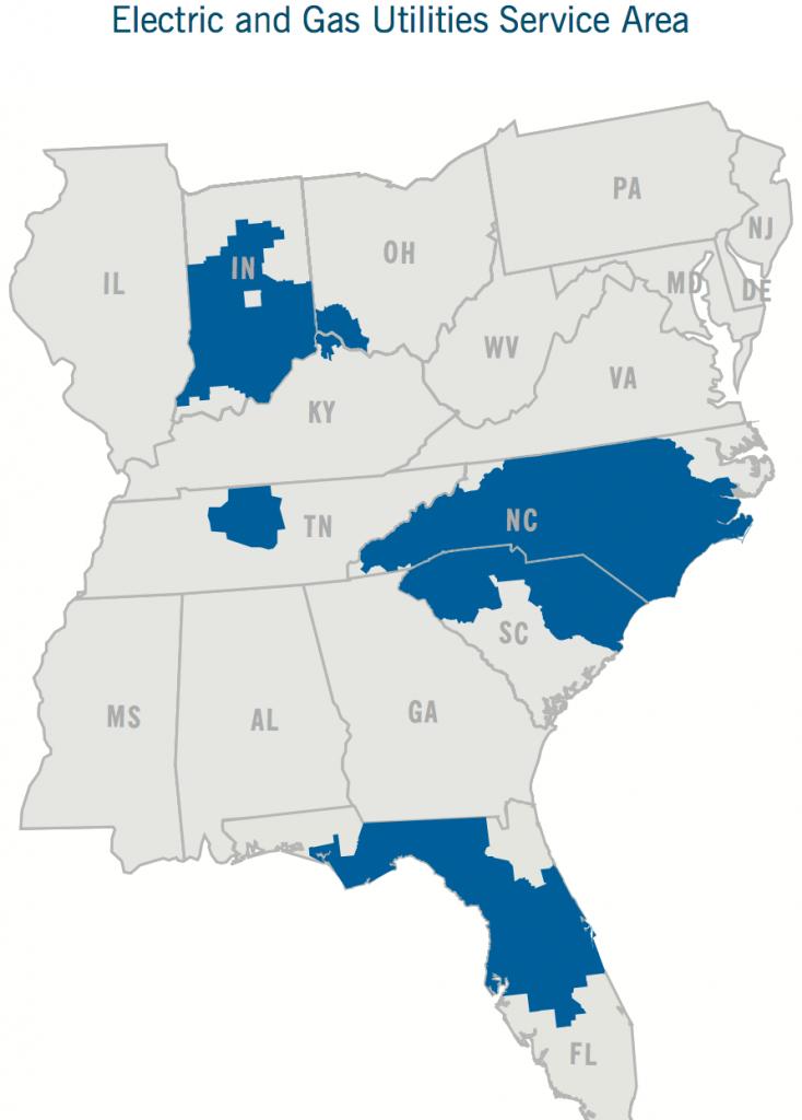 Duke Energy Coverage Map Florida – Bestinthesw - Duke Energy Florida Coverage Map