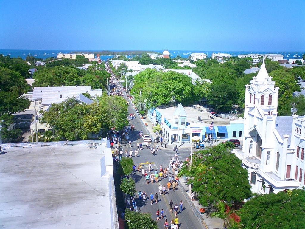 Duval Street - Wikipedia - Map Of Duval Street Key West Florida