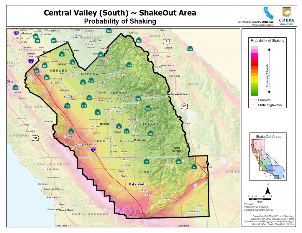 Earthquake Country Alliance: Welcome To Earthquake Country! - California Geological Survey Maps