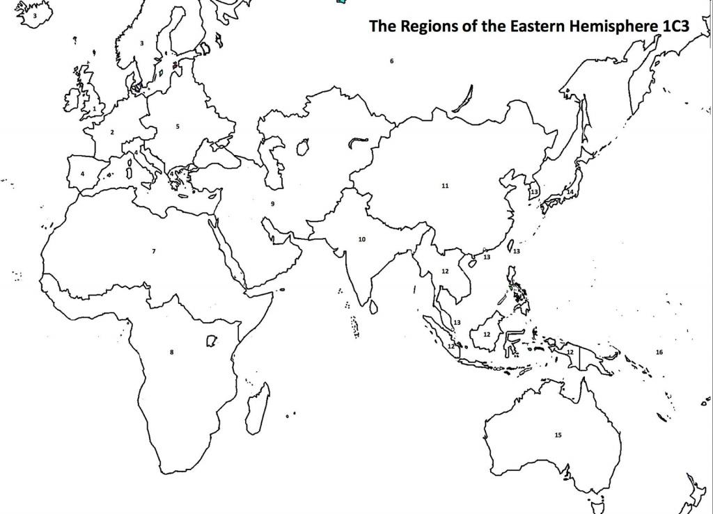 Eastern Hemisphere | Homeschool | China Map, Map, Social Studies - Eastern Hemisphere Map Printable
