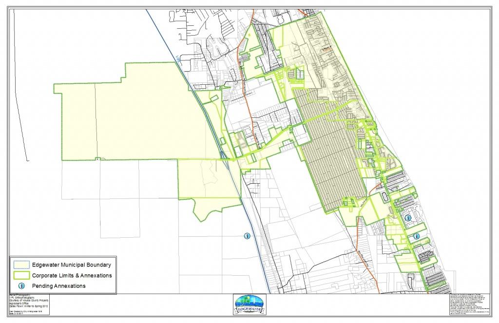 Edgewater Gis | Edgewater Florida - Edgewater Florida Map