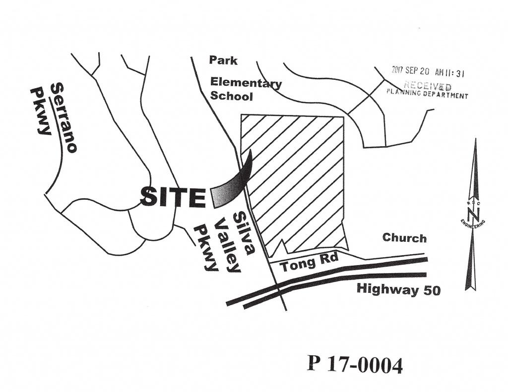 Edh 52 Development At Silva Valley Hwy50 Tentative Parcel Map Filed - El Dorado County California Parcel Maps