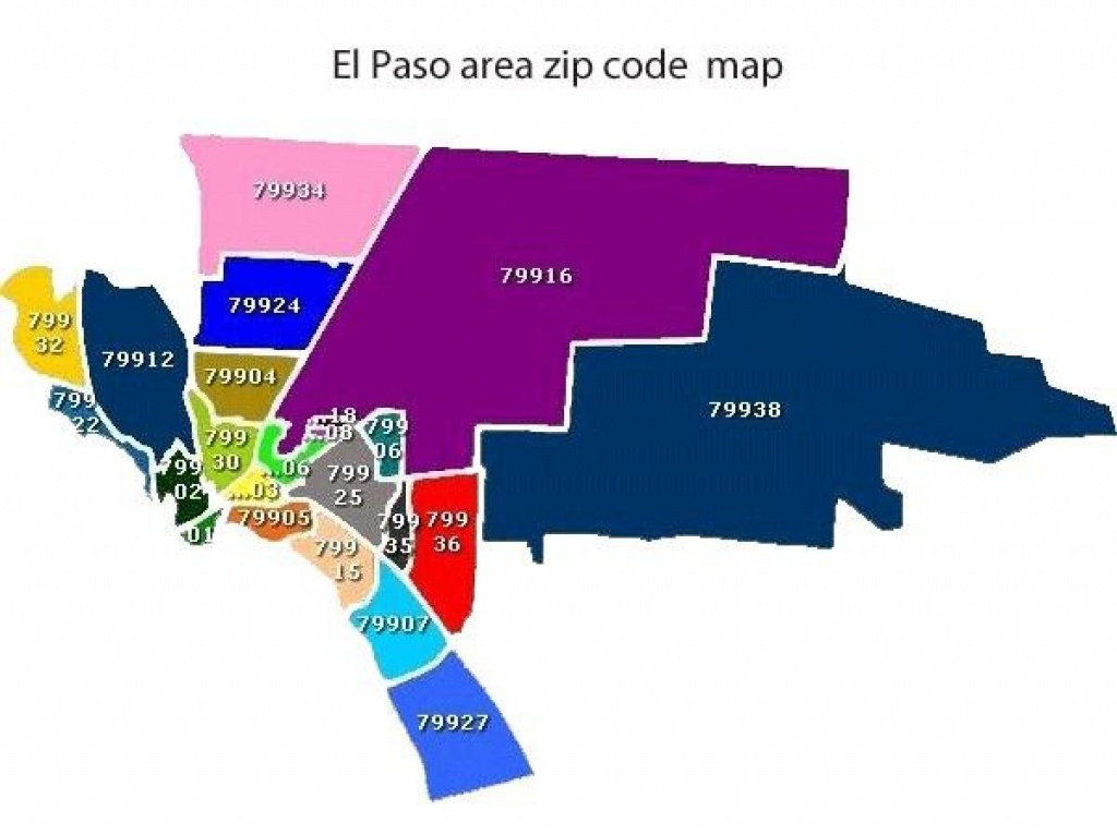El Paso County Map - El Paso County Texas Map (Texas - Usa) - El Paso County Map Texas