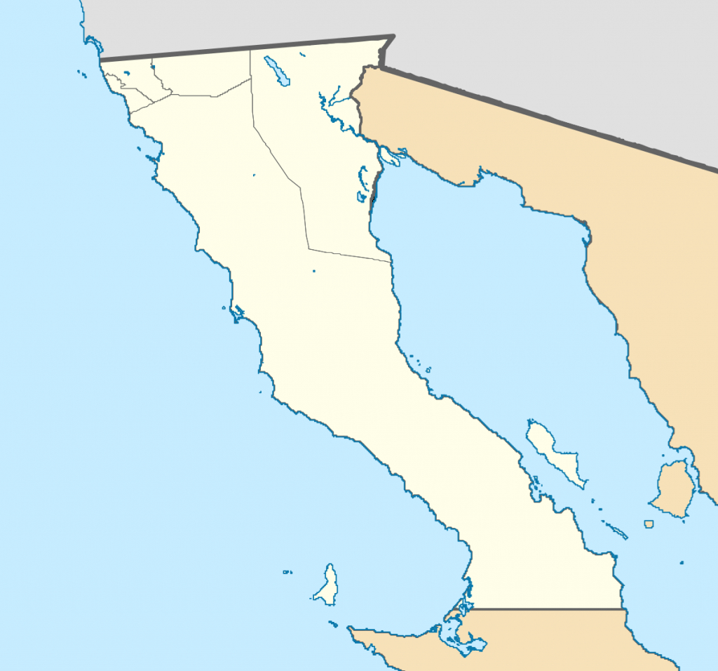 El Rosario, Baja California - Wikipedia - Baja California Norte Map