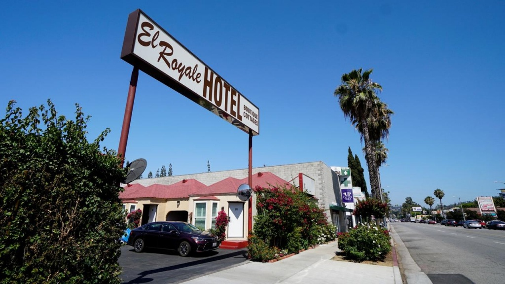 El Royale Hotel, Los Angeles, Ca - Booking - Map Of Hotels Near Universal Studios California