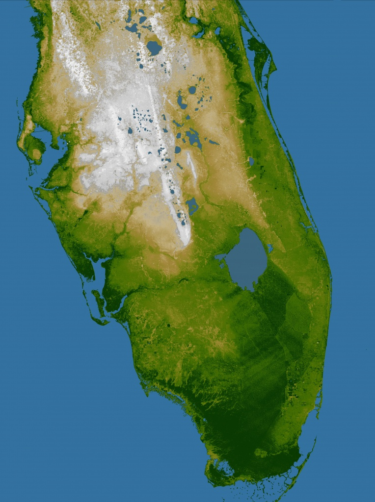 Elevation Map Of Florida (91+ Images In Collection) Page 1 - Florida Elevation Map Free
