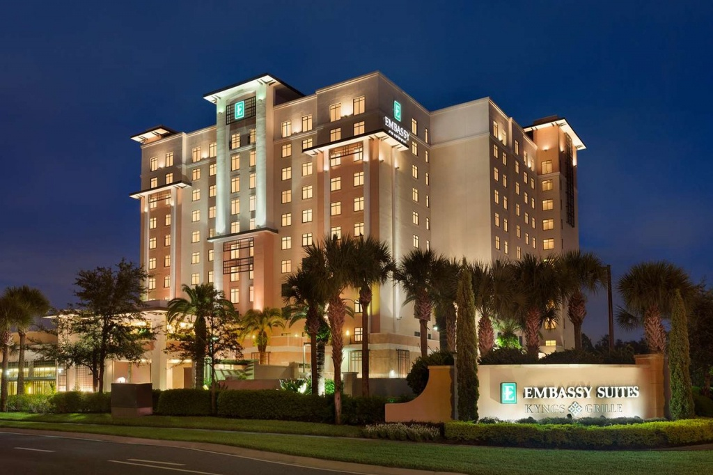 Embassy Suiteshilton Orlando Lake Buena Vista South $117 - Embassy Suites In Florida Map