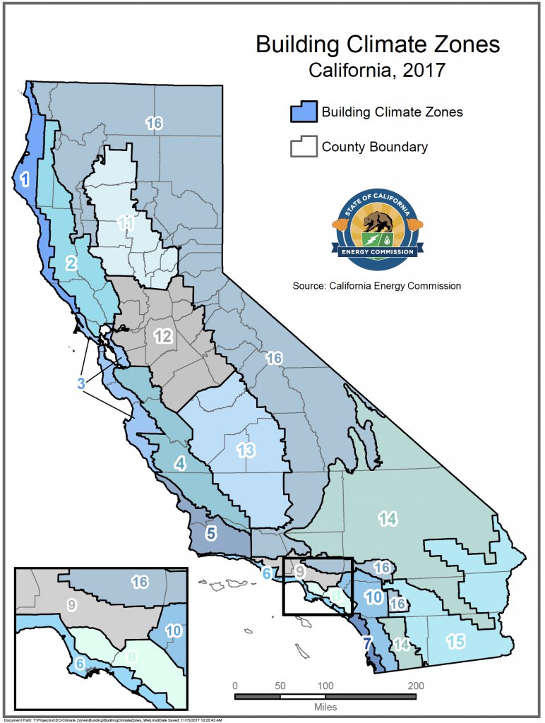Energy Maps Of California - Califonia Energy Commission - California Deer Zone Map 2018