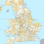 England Road Map   Printable Road Maps Uk