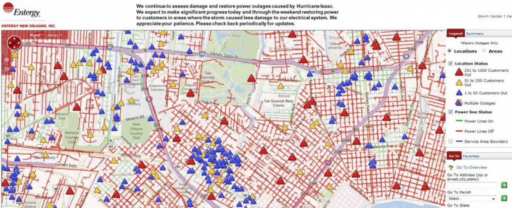 Entergy Outage Map New Orleans | World Map 07 - Entergy Texas Outage Map