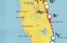 Epic Florida Road Trip Guide For July 2019   Florida Travel Guide Map