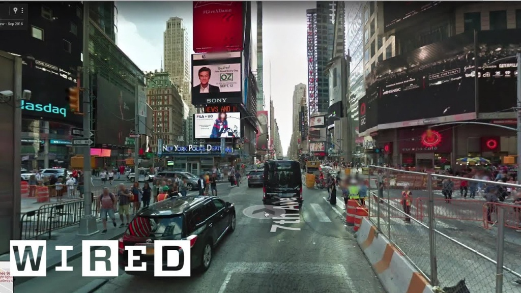 Epic Upgrades For Google Maps Street View | Wired - Youtube - Google Maps Magnolia Texas